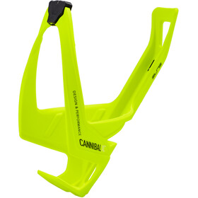Elite Cannibal XC Porte-bidon, yellow fluo/black graphic